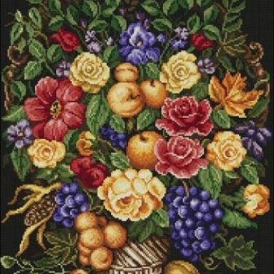Схемы цветы для вышивки бисером скачать бесплатно